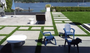 Vancouver Artificial Turf Overlooking Deep Cove